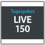 "Streaming Tagespaket ""Live 150"""