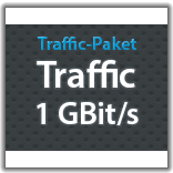 "Traffic Monatspaket ""Traffic 1 GBit/s"""