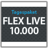 "Streaming Tagespaket ""Flex Live 10.000"""