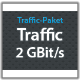 "Traffic Monatspaket ""Traffic 2 GBit/s"""