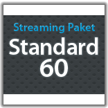 "Streaming Monatspaket ""Standard 60"""