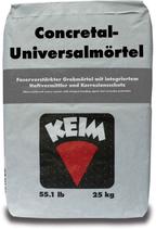 KEIM Concretal®-Universalmörtel-S 25 kg Schnellreparaturmörtel für Beton im Hochbau zum Ausbessern von Schadstellen