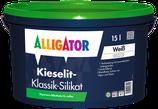 ALLIGATOR Kieselit Klassik-Silikat 15l weiß