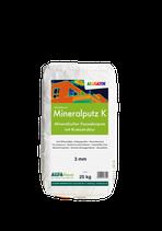 ALLIGATOR Mineralputz K - biozidfreier und wetterbeständiger haftfester Schwerputz