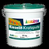 ALLIGATOR Kieselit Kratzputz - wetterbeständiger Silikatputz