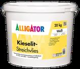 ALLIGATOR Kieselit Streichvlies 20kg weiß, Dickschichtige, faserverstärkte Zwischenbeschichtung auf Silikatbasis