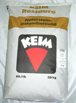 KEIM Restauro®-Fuge - Mineralischer Fugen-Trockenmörtel mit hydraulischen Bindemitteln