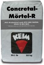 KEIM Concretal®-Mörtel-R - Mineralischer, zementhaltiger Reparaturmörtel zum Ausbessern von größeren Fehlstellen