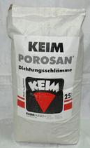 KEIM Porosan®-Dichtungsschlämme Mineralische Beschichtung auf Basis von Feinsand