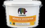 Caparol Minera Universal Füllende,  hoch wasserdampfdurchlässige, quarzhaltige Strukturbeschichtung auf Silikonharzmodifizierter mineralischer Basis.