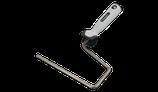 Steckbügel Spitzenqualität, V2A Edelstahl rostfrei, Softtouchgriff 18 - 20 cm oder 25 - 27 cm