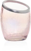 Pearlescent Crackle Pink Votive Holder