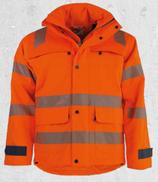 Warnschutz Regenjacke, RL622