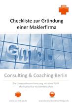 Checkliste zur Gründung einer Maklerfirma - oder: Checkliste - wie werde ich Versicherungsmakler