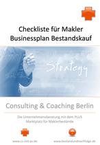 Neu: Checklisten Leitfaden für Makler: Businessplan für Bestandskauf