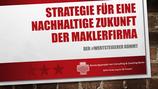 Spezialworkshop Strategie und Zukunft für Maklerfirmen