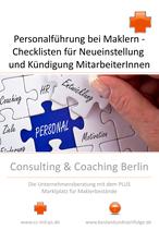 Checkliste Personalführung für Makler: Situationen Neueinstellung und Situation Kündigung von MitarbeiterInnen