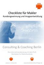 Checkliste für Neukundengewinnnung und Image-Entwicklung von Maklerfirmen
