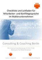 Checkliste Personalführung für Makler: Mitarbeiter- und Konfliktgespräch im Maklerunternehmen