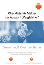 Neu: Checkliste für Makler: Auswahl des passenden Vergleichsprogramms