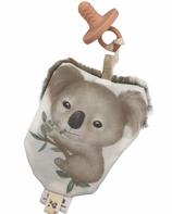 Doudou attache tétine koala-collection eucalyptus
