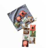 Coussins sensoriels / memory - Collection ZANZIBAR