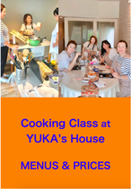 1. Cooking Class at YUKA's House
