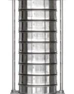 Standard-Siebsatz Analysensiebe Ø 200 mm DIN ISO 3310-1