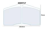 PLAQUETTES DE FREIN CARBONE LORRAINE AUDI S8 AVANT / PORSCHE 911 928 968 993 996 AVANT 4005T17 RC6