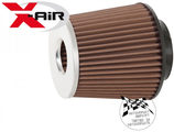 FILTRE X-AIR UNIVERSEL DOUBLE CONE ENTREE 80mm