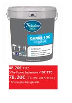 THEODORE PRO'G GARNI 100 Impression Blanc 15L
