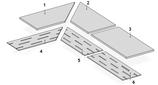 Margelle et Grille Ciment de Quiberon White Double épaisseur
