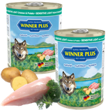 Winner Plus PREMIUM MENUE SENSITIV LIGHT Huhn&Kartoffeln