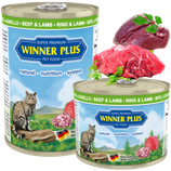 Winner Plus PREMIUM MENUE  Cat Rind&Lamm