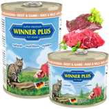 Winner Plus PREMIUM MENUE Cat Rind&Wild