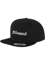 Snapback Cap-Blessed