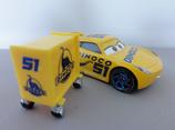 Team 51 Dinoco Cruz Ramirez w/ Tool Cart
