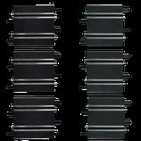 61658 Carrera-Recht baanstuk 10,0 cm/11,4 cm