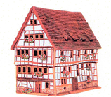 C319AR* Altes Haus in Lich