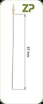 Platinum wire electrode 5.7 mm - 92000060