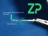 25 micrometer Oxygen microbiosensor