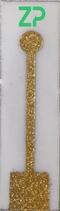 circular gold sputtered electrode