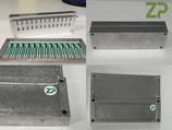 Capillary fill/self filling sensor assembly rig