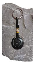 Porte clés spirale ouverte noir