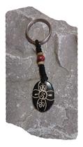 Porte-clés Yin&Yang perle