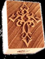 """""""gotisches Kreuz"""" Druckstock"""