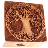 """celtic Tree of Life"" printing block"