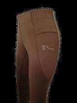 Brown ReitsportPlus Reitleggings Damen Silikon Vollbesatz Reithose mit Grip