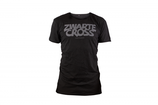Heren shirt Zwarte Cross Logo
