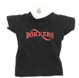 Mini t shirt Bökkers rode of witte letters